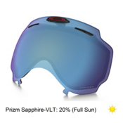 Oakley Airwave 1.5 Goggle Replacement Lens 2017, Prizm Sapphire Iridium, medium