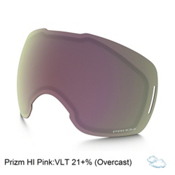 Oakley Airbrake XL Goggle Replacement Lens 2017, Prizm High Pink Iridium, medium