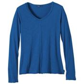 Prana Romina Womens Shirt, Vintage Cobalt, medium
