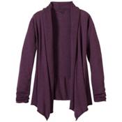 Prana Georgia Wrap Womens Sweater, Grapevine, medium