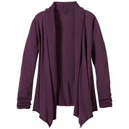 Prana Georgia Wrap Womens Sweater, Grapevine, 256