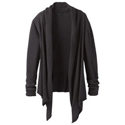 Prana Georgia Wrap Womens Sweater, Black, 256
