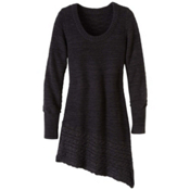 Prana Felicia Tunic Womens Sweater, Coal, medium