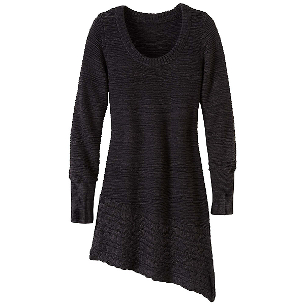 Prana Felicia Tunic Womens Sweater, Coal, 600