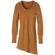 Prana Felicia Tunic Womens Sweater, Dark Ginger, medium