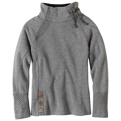 Prana Lucia Womens Sweater, Black, viewer