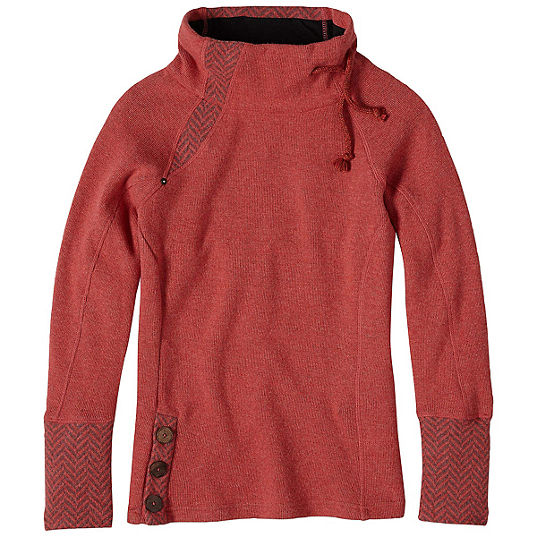 Prana Lucia Womens Sweater, Sunwashed Red, 600