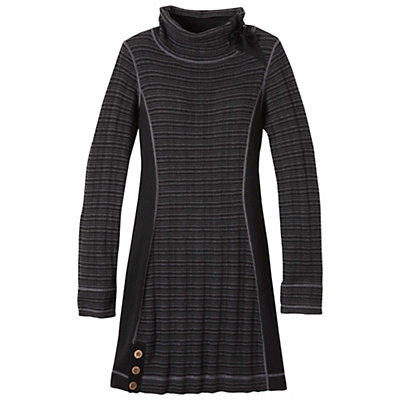 Prana Kelland Womens Dress, Coal, viewer