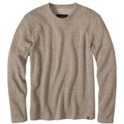 Prana Sherpa Crew Mens Shirt, Dark Khaki, medium