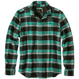 Prana Channing Flannel Flannel Shirt, Dark Olive, 256