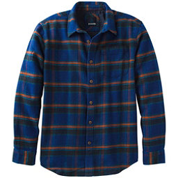 Prana Channing Flannel Mens Shirt, Nautical, 256