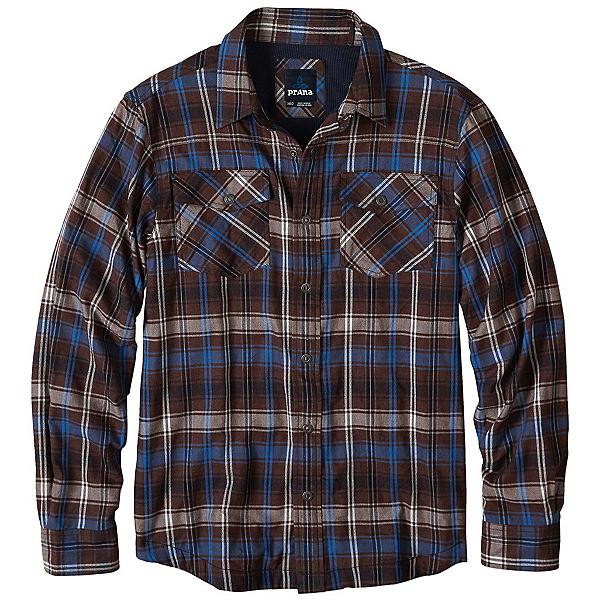 Prana Asylum Flannel Flannel Shirt, Raisin, 600