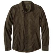 Prana Lukas Slim Mens Shirt, Dark Olive, medium
