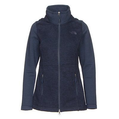 The North Face Indi Hoodie Parka, Cosmic Blue Heather-Cosmic Blu, viewer