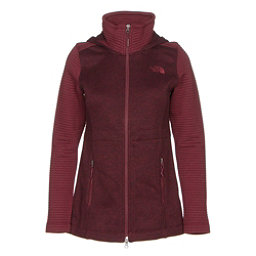 The North Face Indi Hoodie Parka, Deep Garnet Red Heather-Deep G, 256