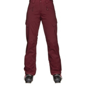The North Face Gatekeeper Womens Ski Pants, Deep Garnet Red, medium