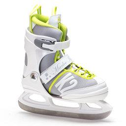 K2 Marlee Girls Figure Ice Skates, White-Yellow, 256