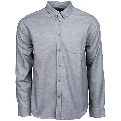 United By Blue Banff Wool Shirt Mens Shirt, Grey, viewer