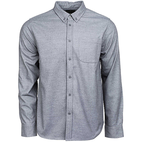 United By Blue Banff Wool Shirt Mens Shirt, Grey, 600