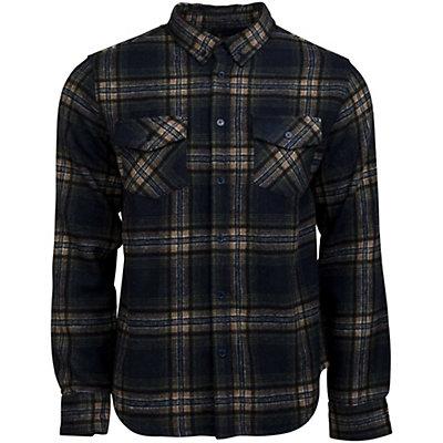 United By Blue Lhotse Wool Plaid Mens Shirt, Nutmeg-Red, viewer