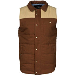 United By Blue Drummond Colorblock Vest, Tan-Brown, 256