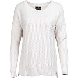 United By Blue Himley Waffle Womens Sweater, Moonbeam, 256
