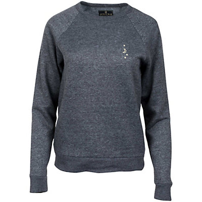 United By Blue Sun Mtn Crew Pullover, Charcoal, viewer