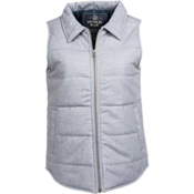 United By Blue Martel Wool Vest Womens Vest, Grey, medium