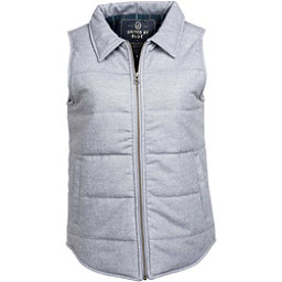 United By Blue Martel Wool Vest Womens Vest, Grey, 256