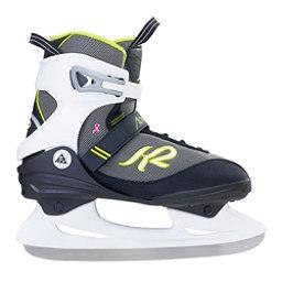 K2 Alexis Womens Figure Ice Skates, Black-Yellow, 256