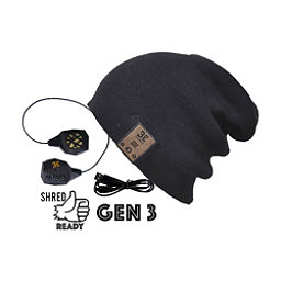 BE Headwear 24/7 Bluetooth Hat, Ink Black, 256