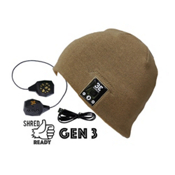 BE Headwear Justright Bluetooth Hat, Sandy Brown, medium