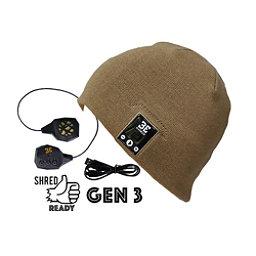 BE Headwear Justright Bluetooth Hat, Sandy Brown, 256