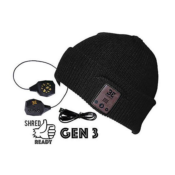 BE Headwear Diver Down Bluetooth Hat, Ink Black, 600