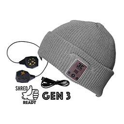 BE Headwear Diver Down Bluetooth Hat, Ash Grey, 256