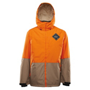 ThirtyTwo Shiloh Mens Insulated Snowboard Jacket, Orange, medium