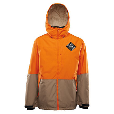 ThirtyTwo Shiloh Mens Insulated Snowboard Jacket, Orange, viewer