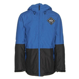 ThirtyTwo Shiloh Mens Insulated Snowboard Jacket, Blue, 256