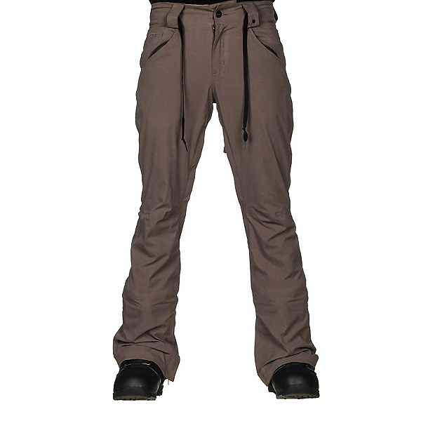 ThirtyTwo Wooderson Mens Snowboard Pants, Ash, 600