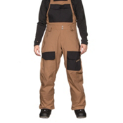 ThirtyTwo Basement Bib Mens Snowboard Pants, Clove, medium