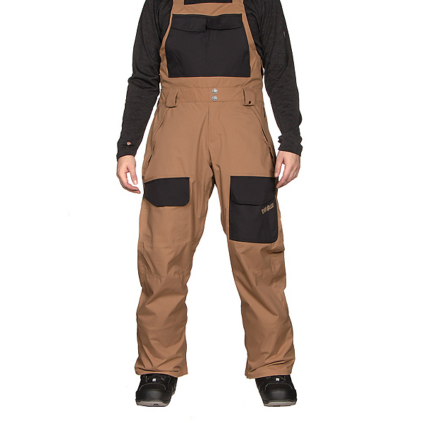 ThirtyTwo Basement Bib Mens Snowboard Pants, , 600