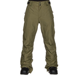 ThirtyTwo Muir Mens Snowboard Pants, Olive, 256