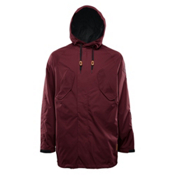 ThirtyTwo Deep Creek Mens Shell Snowboard Jacket, Burgundy, medium