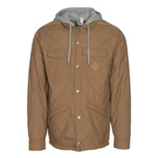 ThirtyTwo Myder Hooded Mens Jacket, Clove, medium