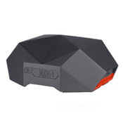 Outdoor Tech Turtle Shell 3.0, Gray-Orange, medium