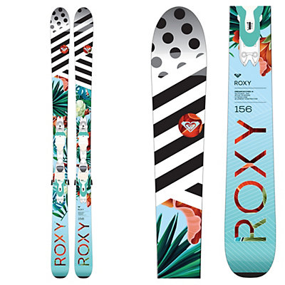 Roxy Dreamcatcher 75 Womens Skis with Xpress 11 Bindings 2017, , viewer