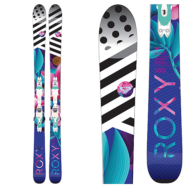Roxy Dreamcatcher 85 Womens Skis with Xpress 11 Bindings 2017, , 600