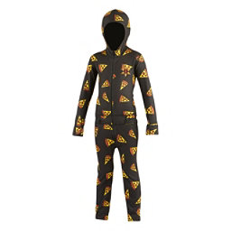 Air Blaster Ninja Suit Kids Long Underwear Top, Pizza, 256