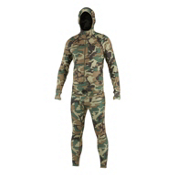 Air Blaster Classic Ninja Suit Mens Long Underwear Top, Camouflage, medium