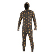 Air Blaster Classic Ninja Suit Mens Long Underwear Top, Pizza, medium
